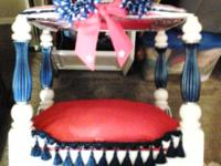 Type: Furniture This is a custom pet bed made from a