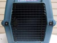 Pet Cage Kennel Cage Crate Pet Smart Deluxe Porter Blue