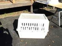 "pet carrier 22x26x36"" very good condition...please call"