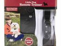 This Pet Safe Trainer is great for a small dog, it is a
