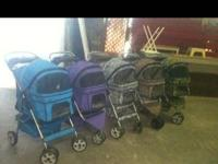DOG STROLLERS! TOP QUALITY! Three Wheel SPORTY Model or