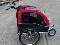 - Used twice as stroller for cats outing while walking