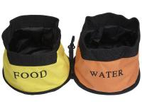 The DOUBLE Water Bowl for dogs and owners on the go who