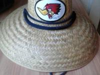 Like new, straw hat made by Peter Grimm!