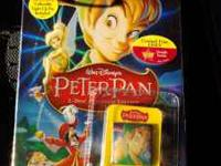 PETER PAN ON 2 DISC DVD. THIS IS BRAND NEW, STILL