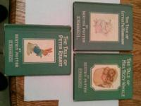 I HAVE THREE ANTIQUE BOOKS BY BEATRIX POTTER (PRINTED