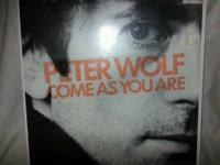 "Today we have for you a very mint Peter Wolf ""Come As"