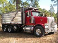 2006 PETERBILT 357 C13 Caterpillar Engine 430 HP;
