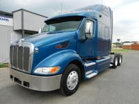 PETERBILT 387 WITH CAT-C13, 10 SPEED TRANSMISSION,