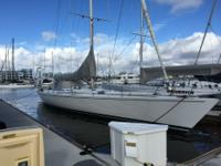 This Peterson 68' is an ideal racer/ cruiser. Kept in