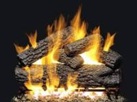 "Realfyre 24"" natural gas Log Set, PO-24 with match"