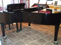 Petrof grand piano, 6 ft. 4 inches, gorgeous. One