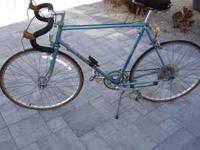 Blue Peugeot Road Bicycle bought new around 1981 or
