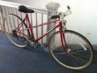 I'm selling a 1983 Peugeot Mixte Ladies Sports Bicycle.