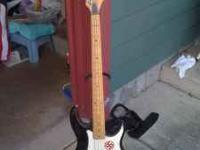 Pevey Fury Bass Guitar in good condition. Call
