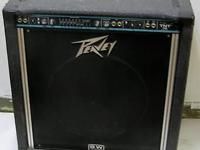 The amp is a TNT Peavey 160 with chorus loaded and a