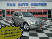 2005 Mercedes-Benz ML500 4MATIC. Mileage 73011 MI.
