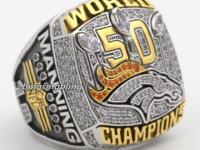 Peyton Manning 2015 Denver Broncos Super Bowl Champions