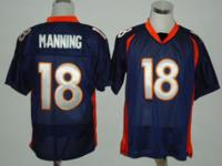Peyton Manning broncos jersey new sewed stitched all