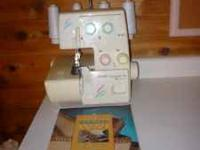 Model Hobby Lock 776. Haven't used the serger in years.