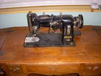 This vintage Pfaff sewing machine(1.3 amp) is in good