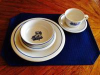 Pfaltzgraff Yorktowne white china in seldom used/like