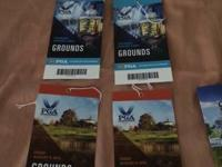 Have 2 premises tickets for Thursday (8/7/14) and two