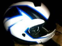 Up for sale is a PGA motorcycle helmet i have bought it