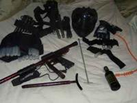 I have a stock class paintball lot for sale. Asking