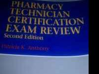 For sale: Pharmacy technician certification exam review