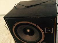 Phase Technology Octave Series Power 10 Subwoofer.