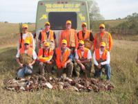 Book a pheasant hunt with us and get 10% off on your