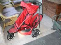 Fine quality double stroller sells new for over $400,