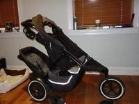 Excellent condition Phil and Teds Dash double stroller