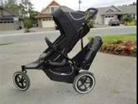 Phil and Teds Double jogging stroller. Good condition.