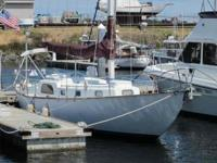 "1959 Phil Rhodes Bounty II Sloop 40'10"". Constructed by"