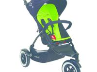 The phil&teds Dot Inline Buggy Stroller is a very