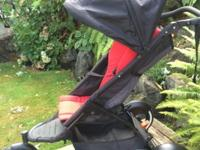 This is a phil&teds Explorer double seat stroller. We
