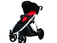 The phil&teds verve stroller in red - The super sleek,