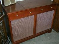 We have a Philco Stereo Record Changer Player. It is in