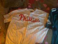 Authentic Knitted Majestic Cliff Lee Jersey and