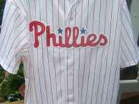 Hi, I have a genuine Phillies baseball jersey by