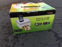 VuPoint Photo Cube compact photo printer. New in box,