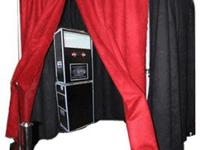 SnapFlash Photo Booth used twice excellent condition.