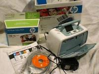 Photo printer HP Photosmart A522 with HP photo value