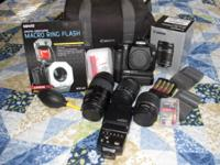 I am selling off my excess photography equipment as I