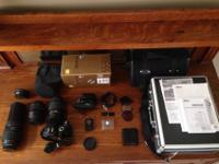 Photography Kit / Nikon d60/3 lenses/Wide