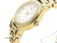 This is a Piaget, 18k Gold W'factory Diamond Bezel
