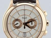 Piaget Gouvernour Flyback Chronograph, Automatic, 18K