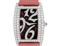 Ladies Piaget Limelight with 2 rows of diamonds bezel